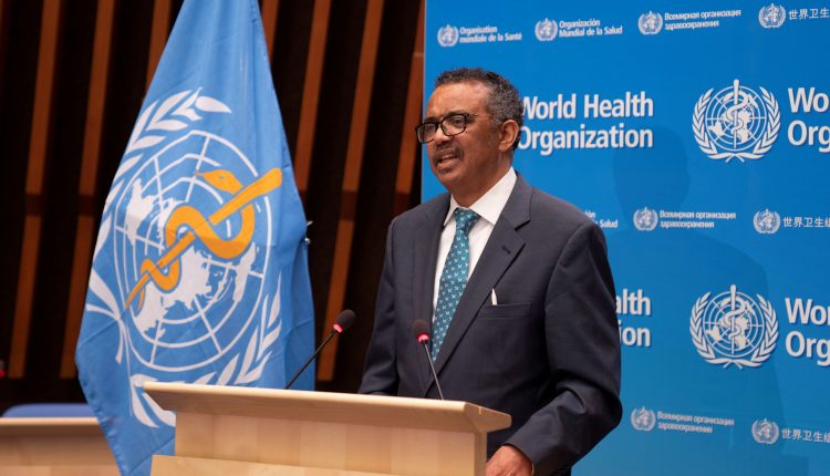 WHO holds press conference on the coronavirus outbreak