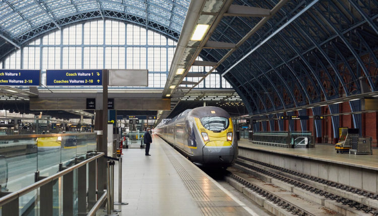 Who Takes the Eurostar? Almost No One, as the Pandemic
