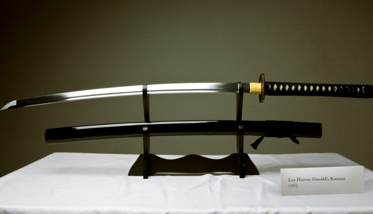 The Naginata That Lee Harvey Oswald Used To Cut Down