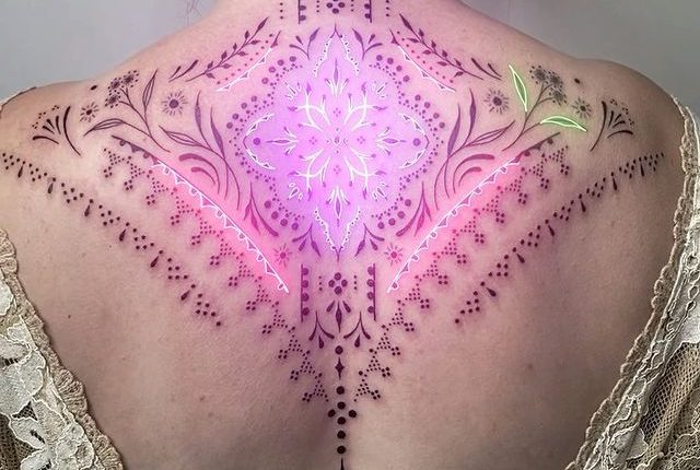 19-Year-Old Animator Uses Neon Effects to Highlight Classic Tattoos