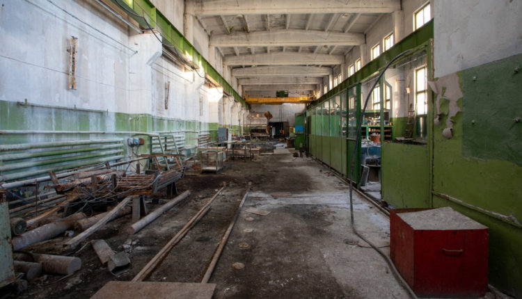 Glimpses of a Deserted Soviet Mining Town, Preserved in the