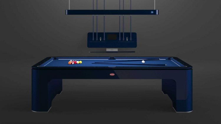 Bugatti Now Sells Self-Leveling Pool Tables for $300,000   ABSOLUTE GENERAL  NEWS